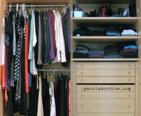 paroladordine-unastanzaalmese-guardaroba-abiti-accessori
