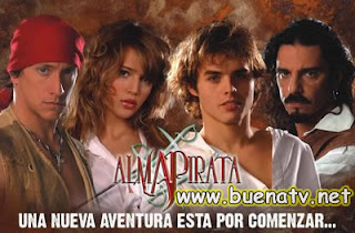 Alma Pirata Telenovela