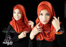 Jilbab Instan Nuhijab Plain Shawl – Merah Bata