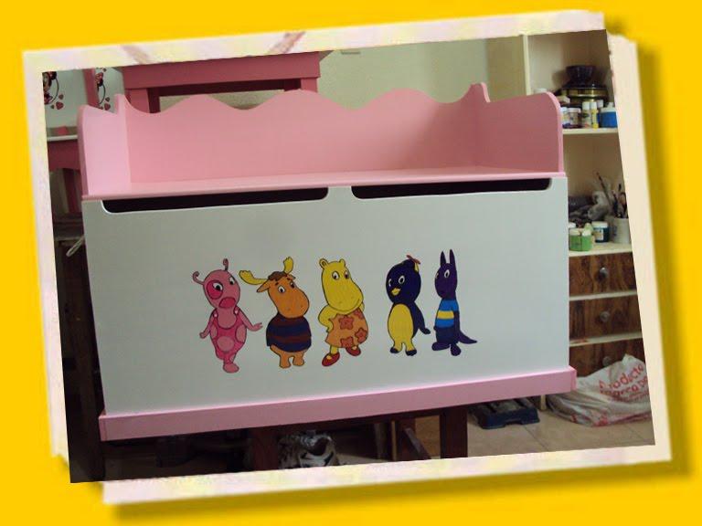 Lco todo personalizado baul guarda juguetes 80 x 40 x 40 - Baul guarda juguetes ...