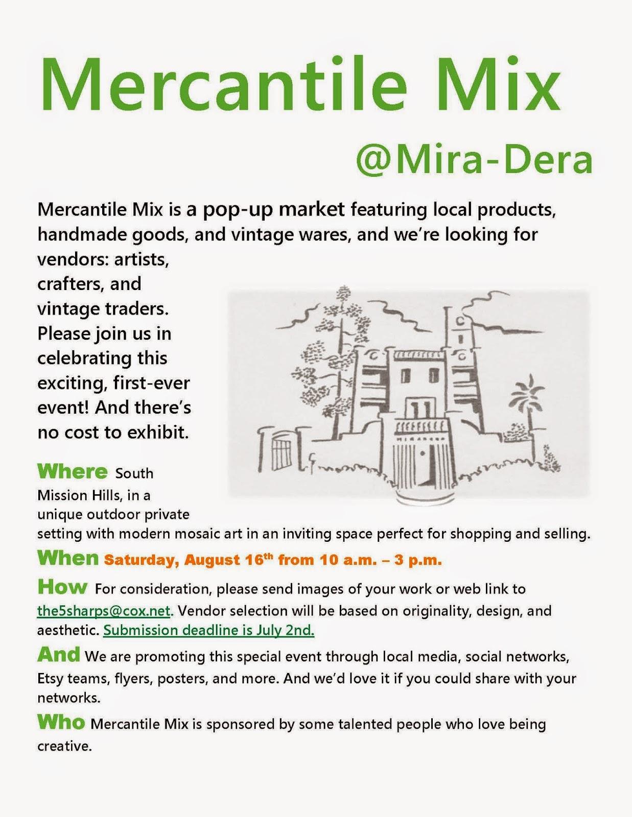 Mercantile Mix flyer