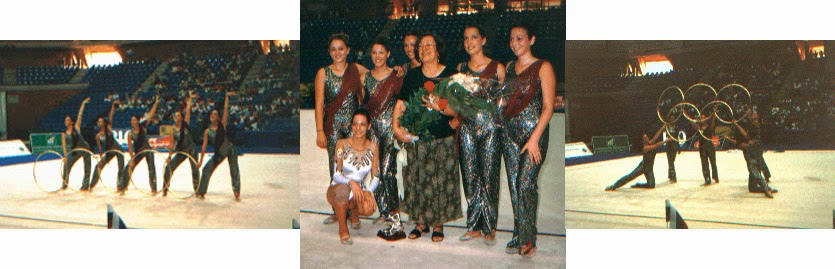 Nuria Cabanillas, Estela Giménez, Tania Lamarca, Maider Esparza, Estíbaliz Martínez, Emilia Boneva, homenaje