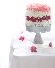 DIY flower cake