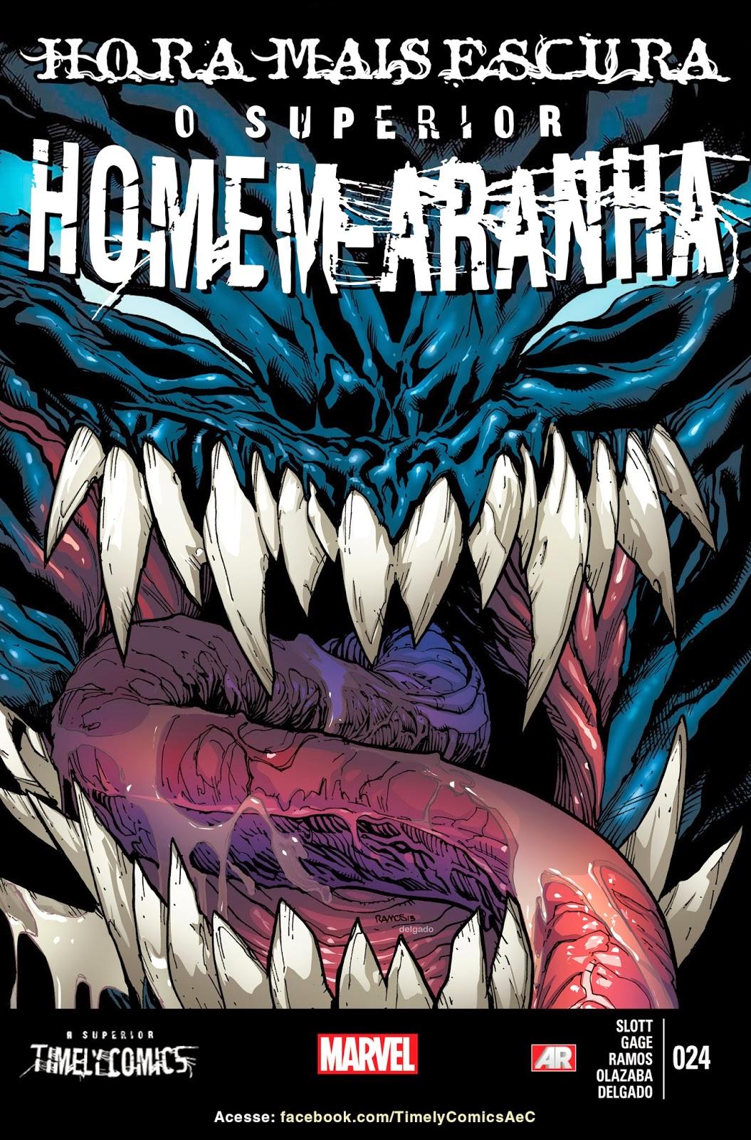 Nova Marvel! O Superior Homem-Aranha #24