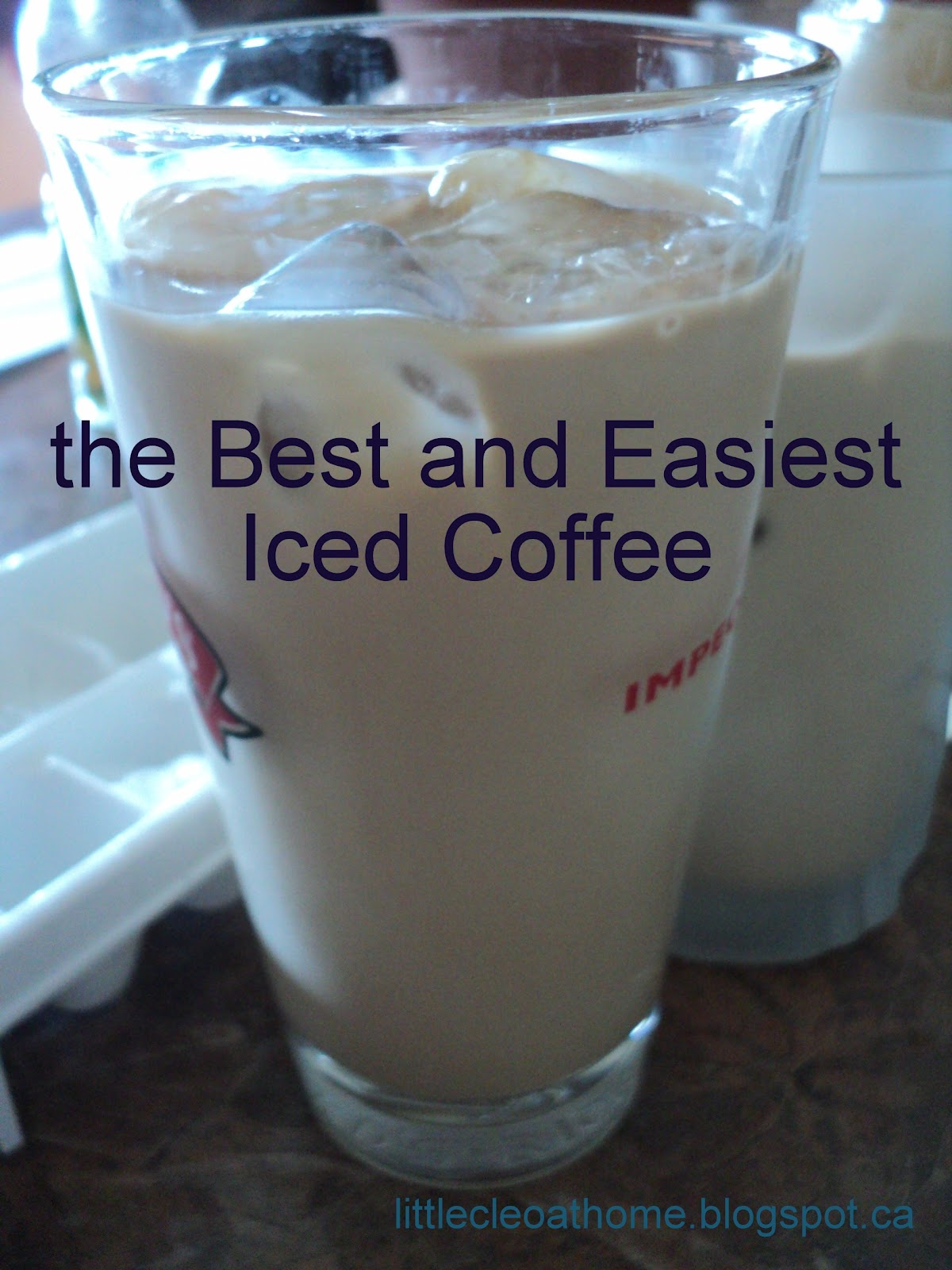 how to make a delicious iced coffee at home