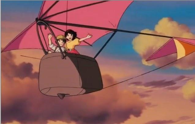 天空の城ラピュタ 乗りこなす