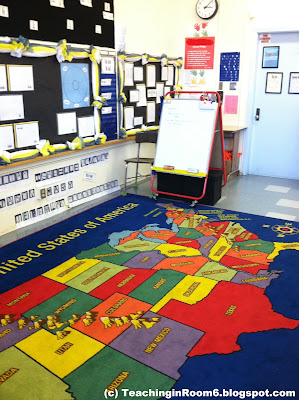 upper grade blog, 5th grade blog, using a rug