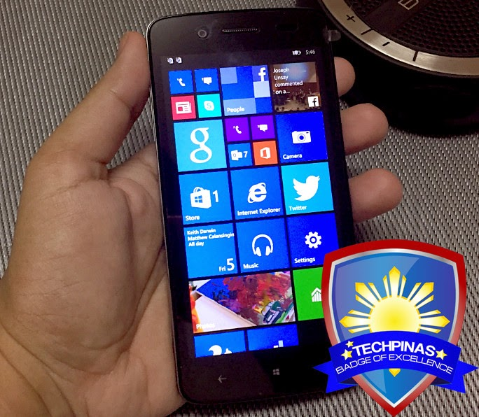 Cherry Mobile Luxe, TechPinas Badge of Excellence