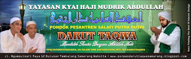 PONDOK PESANTREN  DARUT TAQWA SEMARANG