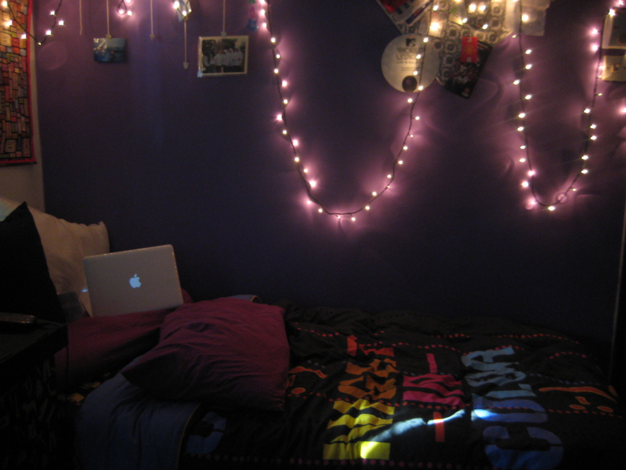 Good night we heart it bedroom and lights for Bedroom night light