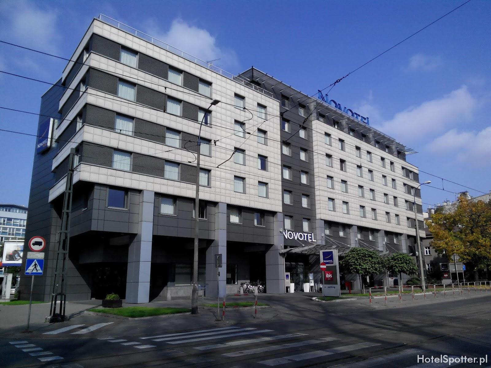 Novotel Krakow Centrum - wyglad zewnetrzny