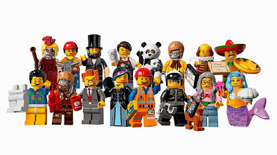 lego minifigures series 12 - the lego movie