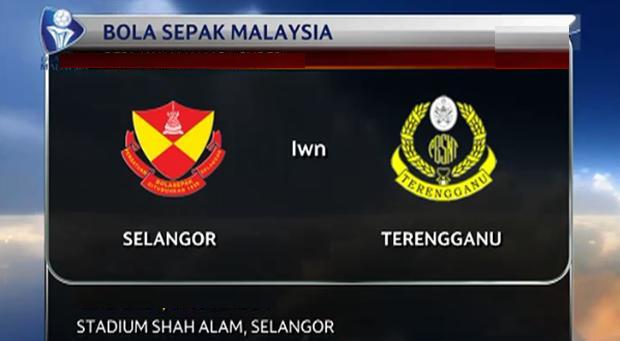 Keputusan Selangor Vs Terengganu 18 Mac 2015