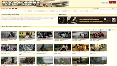 IMCDB - Internet Movie Cars DataBase