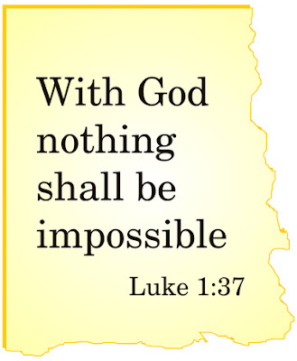 Luke 1 37 Bible Quote