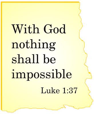 Luke 1 37 Bible Quote