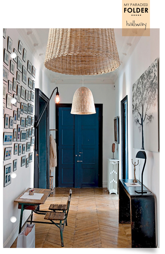 Decorating ideas hallway