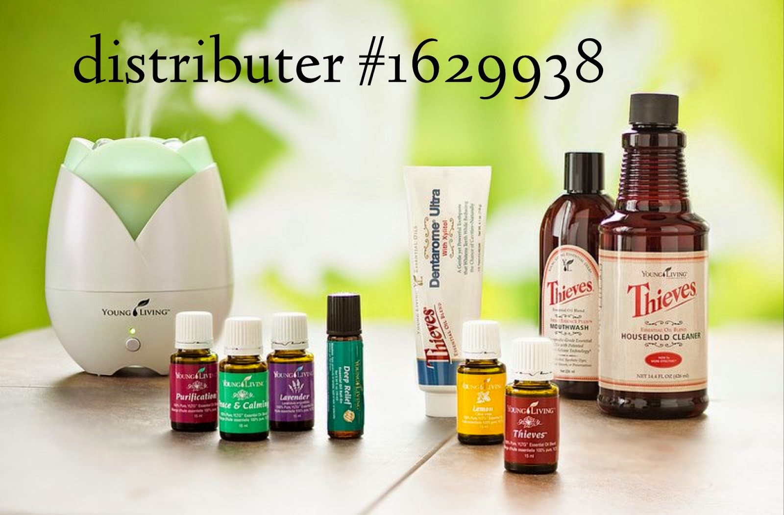 i'm a young living distributer!