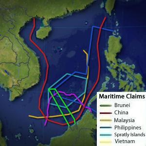 South China Sea claims Vietnam Philippines