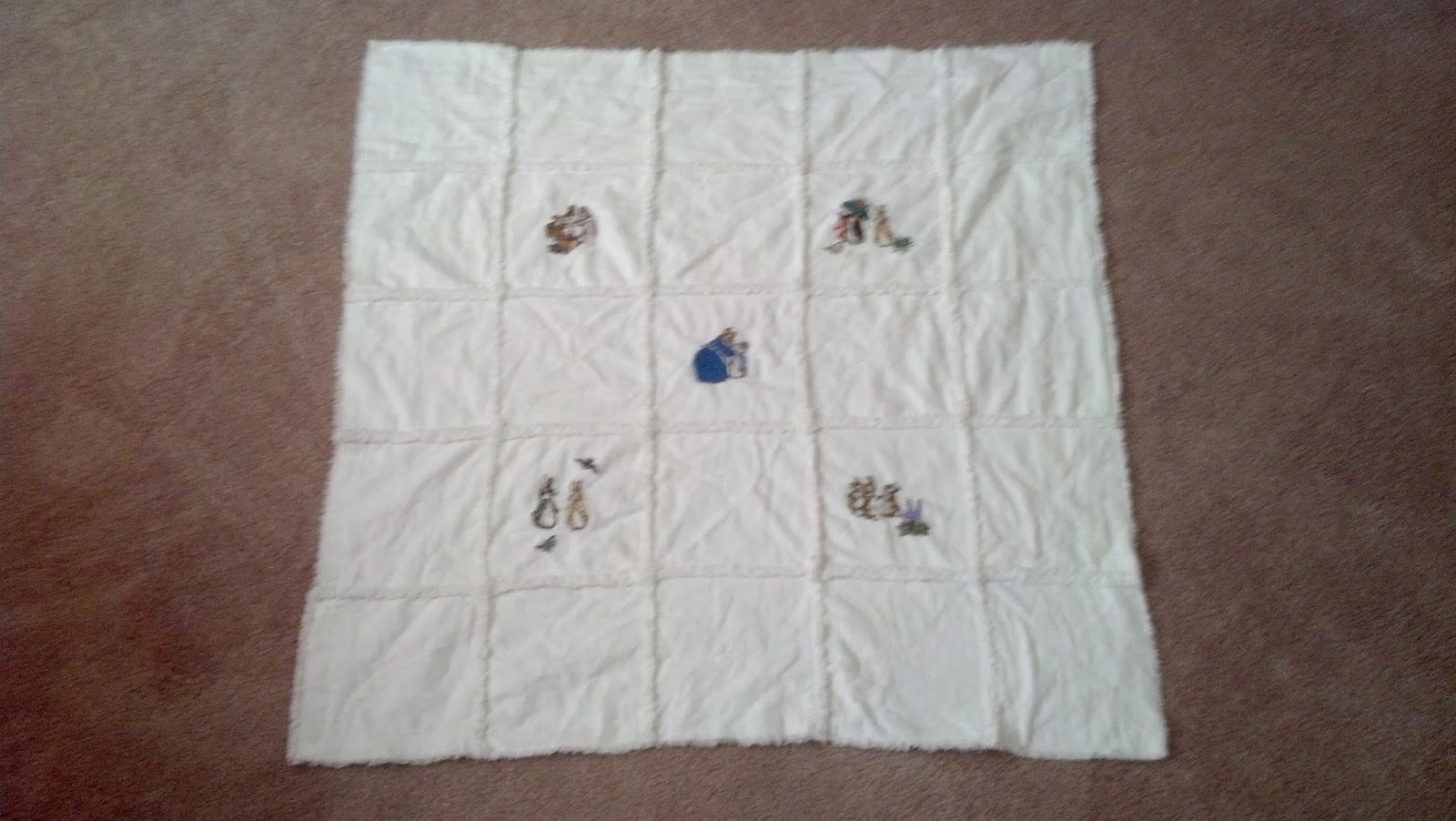 Purple Sage Originals Peter Rabbit Rag Quilts