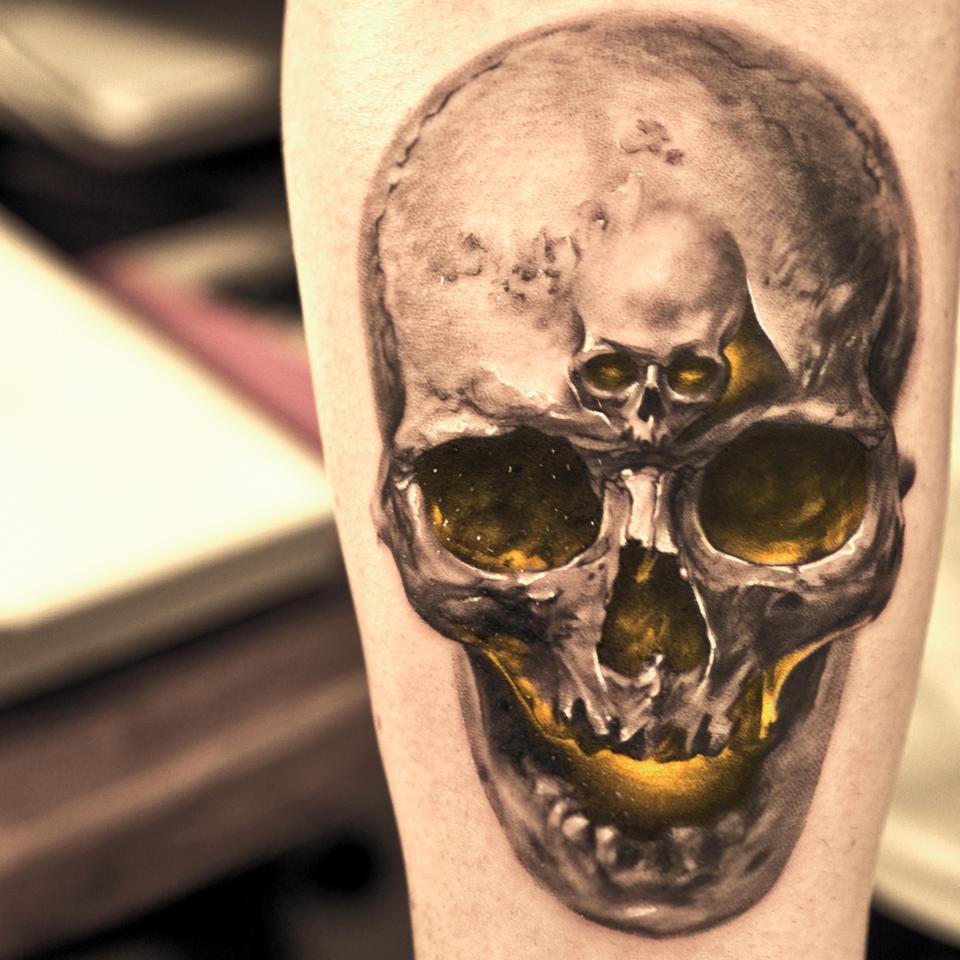 Ceramic Tattoo Art:
