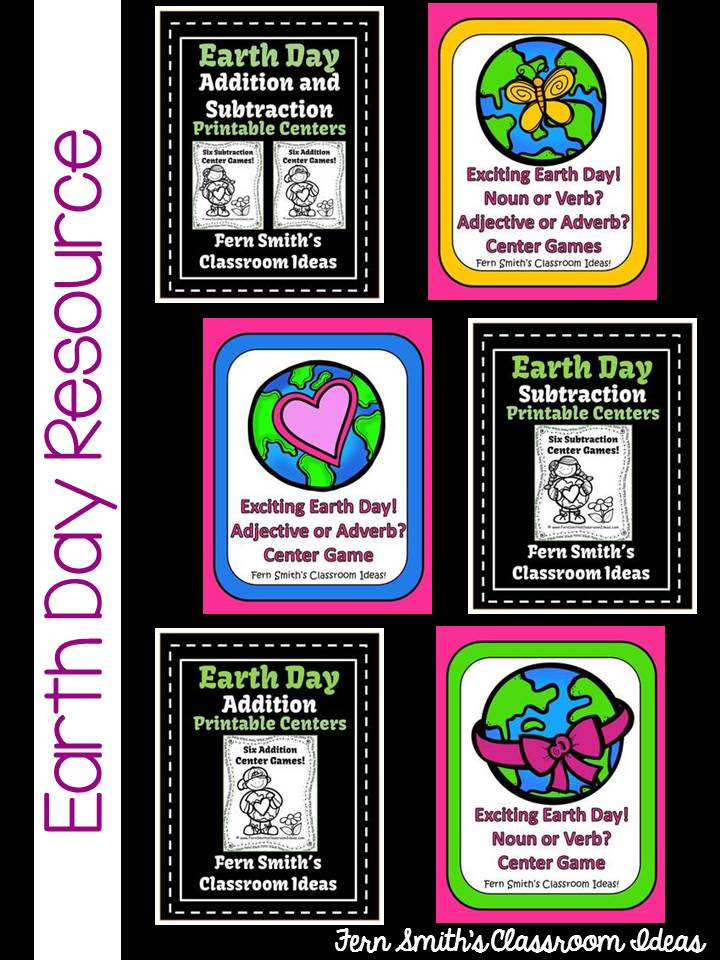 Fern Smith's Classroom Ideas Earth Day Resources at TeachersPayTeachers!