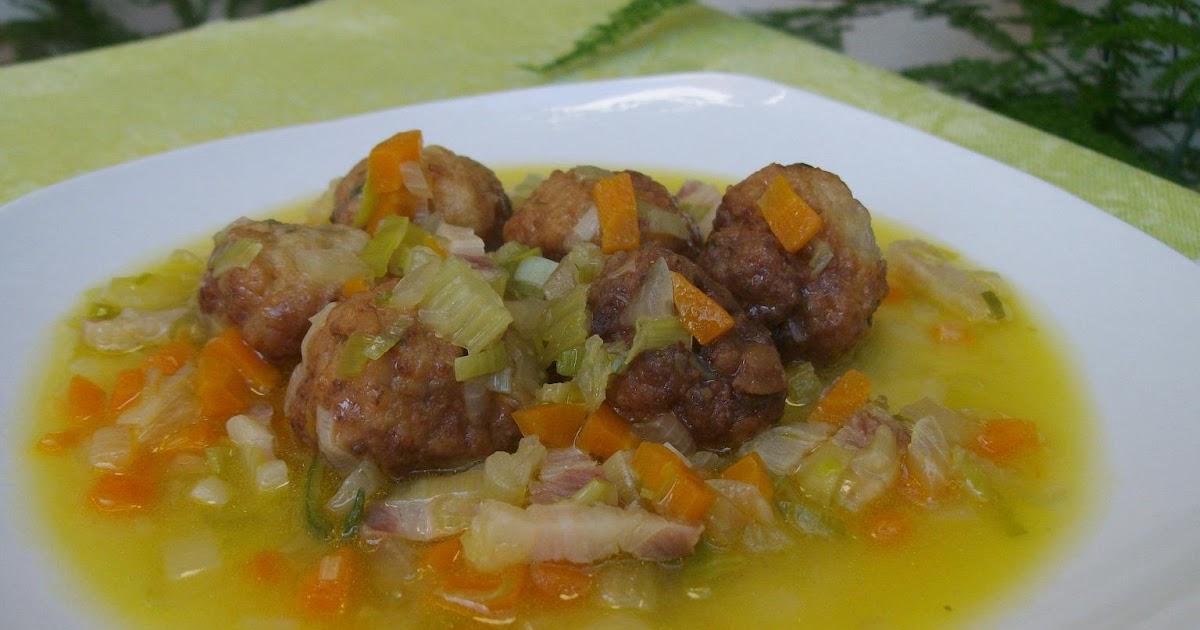 Maricacharros alb ndigas con verduras - Albondigas con verduras ...