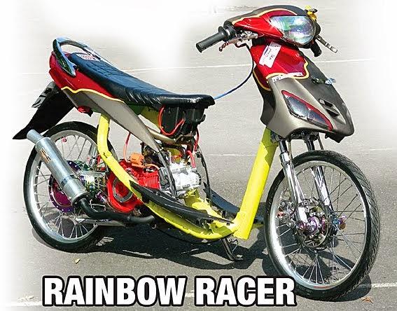 Modif Suzuki Smash 110 Racer