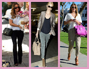 . indigo flare jeans just like LC, I can wear my favorite Old Navy cargos .