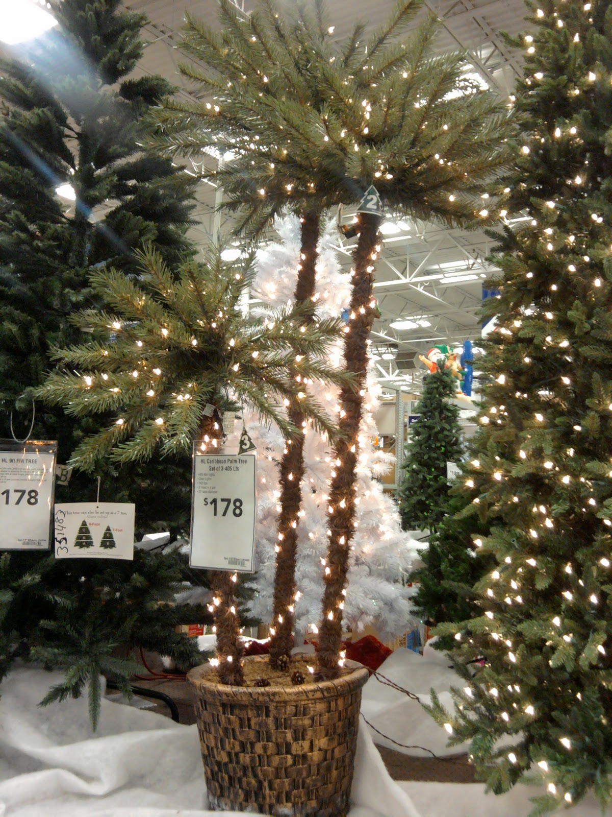 lowes christmas trees