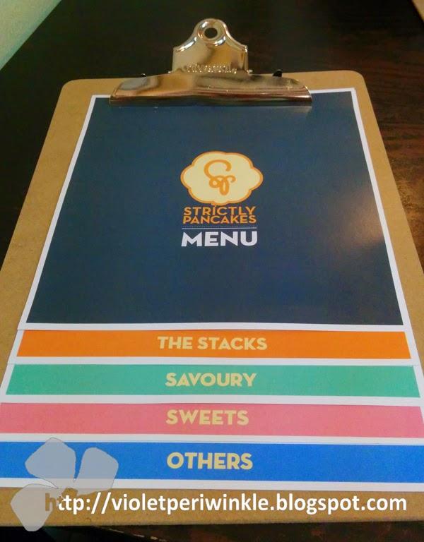 menu Prinsep Street