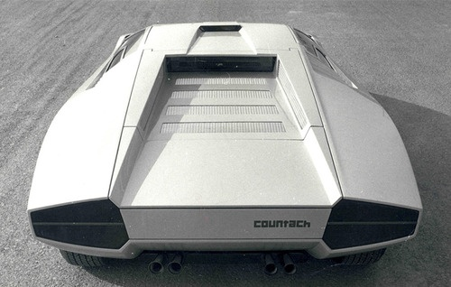 The Lamborghini Countach Periscopica Blueiskewl
