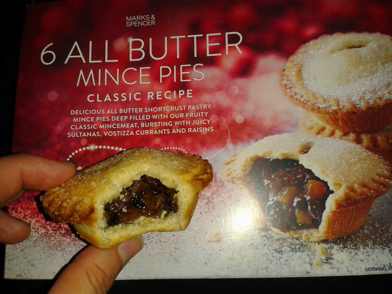 Marks and Spencer All Butter Classic Mince Pies Review