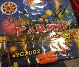 Tra i fuochi d'artificio a Napoli: La Bomba di Parigi