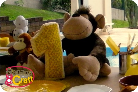 Dica decoração de Mesa festa infantil macaco