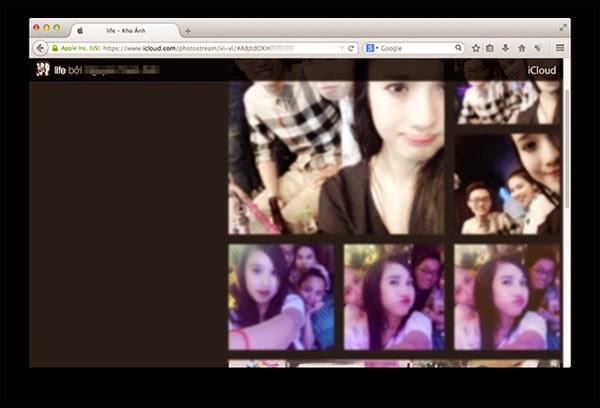Chia sẻ ảnh từ Photo Stream tới người dùng không sử dụng iPhone, iPad