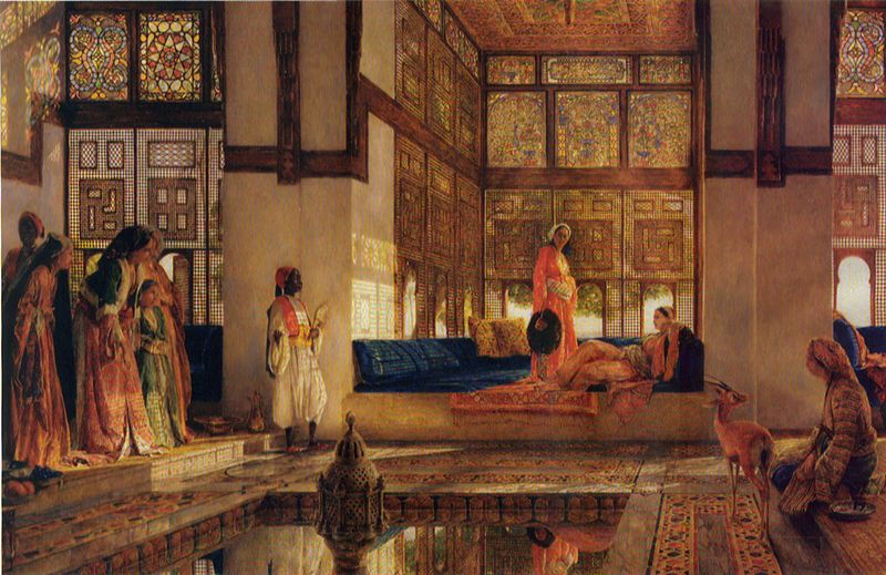The harem certainly ma...