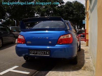Subaru Impreza WRX Ver 8