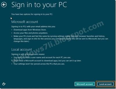 kullanıcı hesabı windows 8,