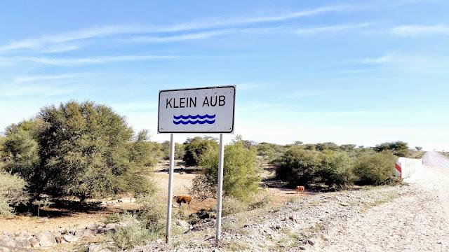 Klein Aub River Namibia