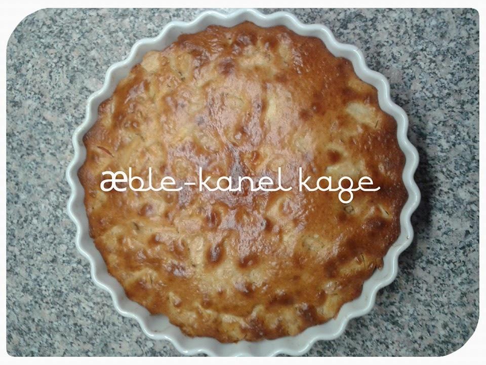 æble kanel kage