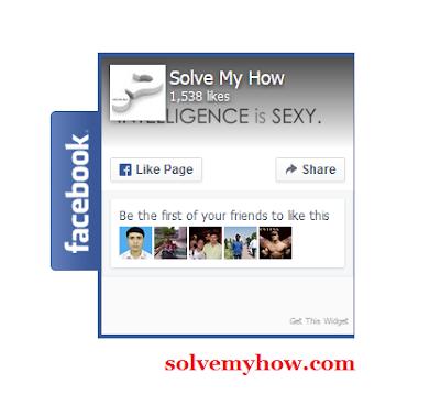 add floating facebook like box widget