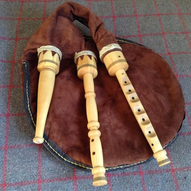 Swedish bagpipes