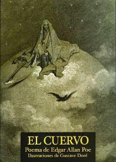 Portada del libro El cuervo con ilustraciones para descargar pdf