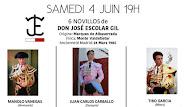 Manolo Vanegas, anunciado en la I de feria de Boujan el 04/06.