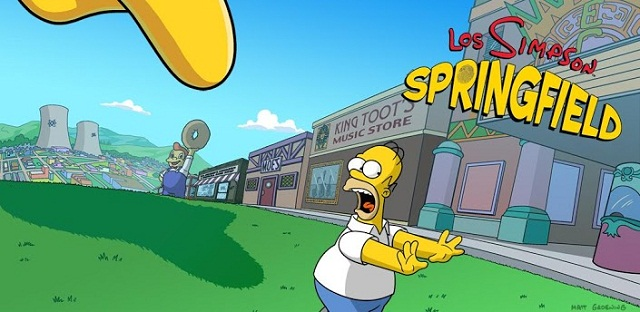 Los Simpsons: Springfield Android
