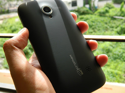 Back Micromax A100