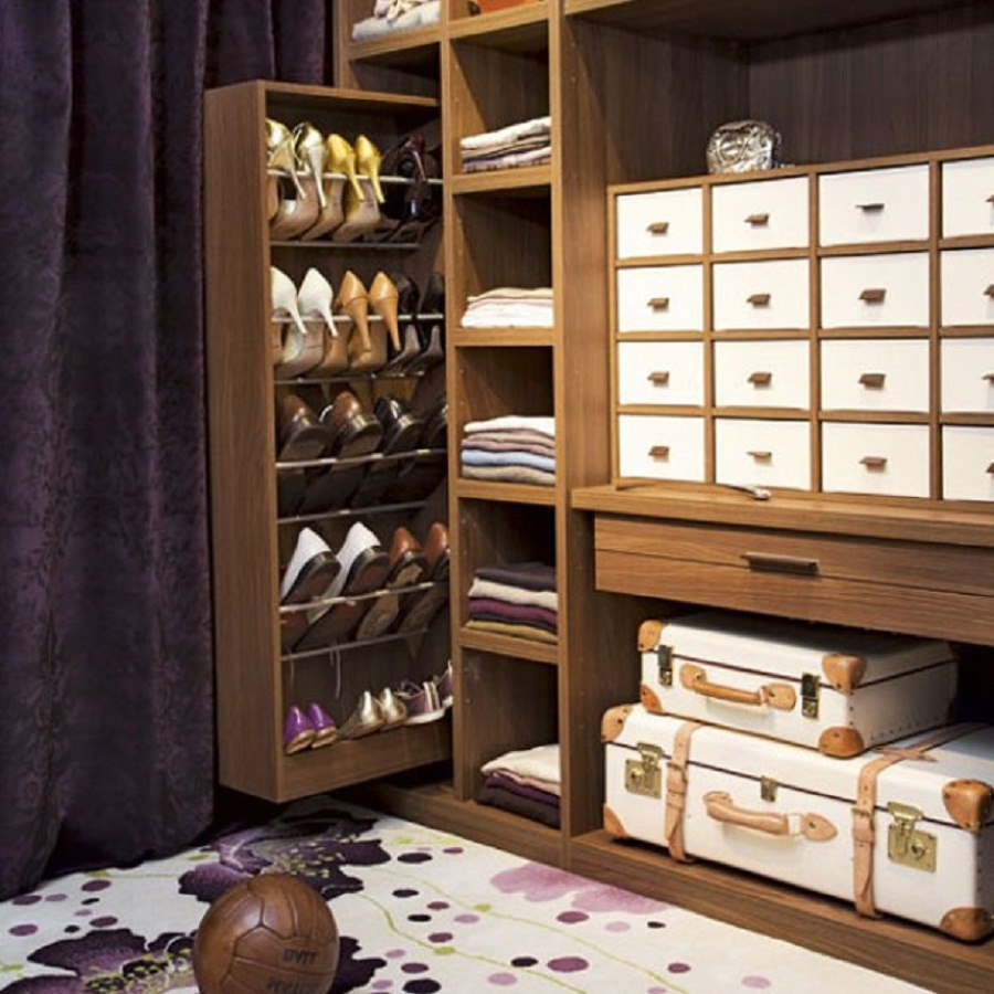 Ideas para guardar zapatos for Mueble guarda zapatos