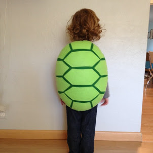 The almost perfectionist homemade turtle costume now just imagine her with all green clothes and of course a pink bow every baby turtle needs a pink bow solutioingenieria Gallery