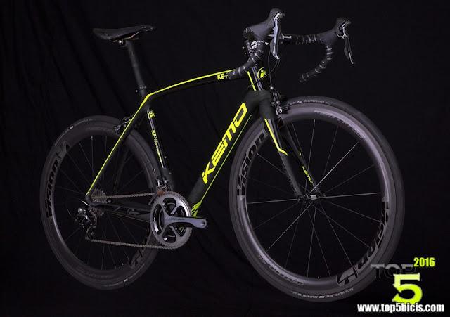 KEMO KE-R8 5KS, otra buena bici y muy ligera para 2016
